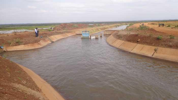 NIB Lined Canal