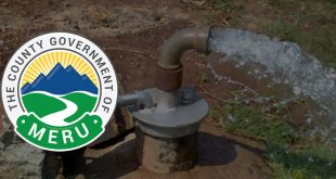 Meru county to dig 500 boreholes