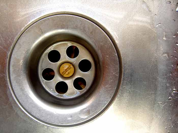 how to unblock clogged sink at home