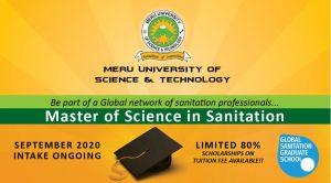 Meru University MSc Sanitation programme.