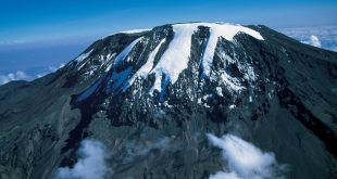 Mount Kilimanjaro glaciers and present-day climate would be enough to eliminate the mountain's glaciers by 2060. Photo by Tanzania Tourist Board.
